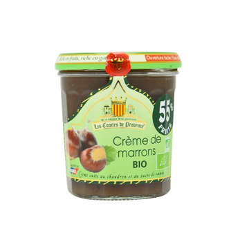 Les Comtes de Provence Crème De Marrons Bio Les Comtes De Provence, 320g