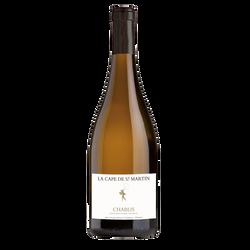 Vin blanc AOP CVT Chablis LA CAPE SAINT MARTIN BLANC, bouteille de 75cl