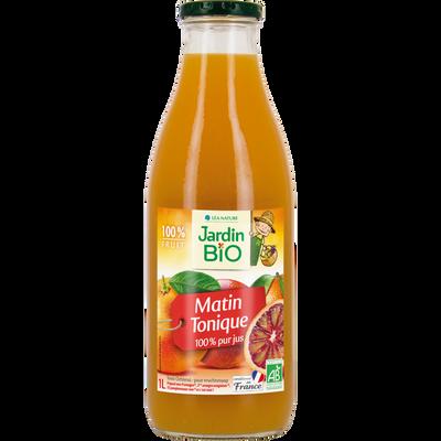 Pur jus Matin Tonique 100% bio JARDIN BIO 1L