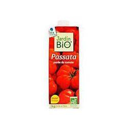 Purée de tomate Passata JARDIN BIO, brique de 1kg