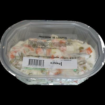 Macédoine de légumes 250g