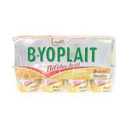 Yaourts brassés saveur vanille B-YOPLAIT,  16x125g