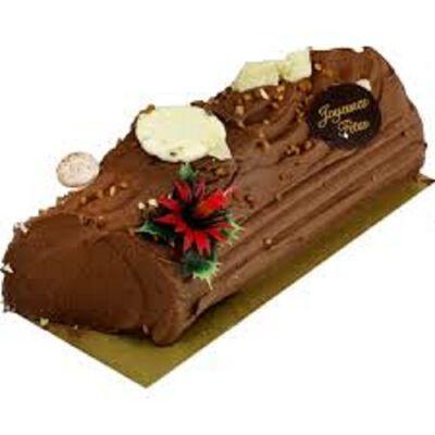 BUCHE CHOCOLAT 6/8 PERSONNES