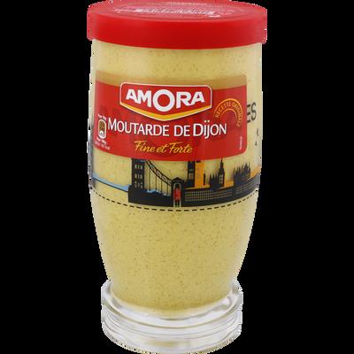 Moutarde forte AMORA, verre long drink, 300g