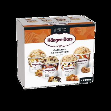 Häagen-Dazs Minicups Caramel Attraction Häagen Dazs, 321g