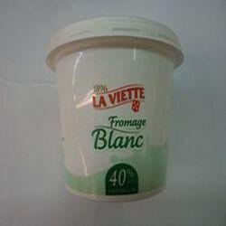 Fromage blanc 40%MG LA VIETTE  500g