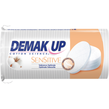 Ovales à démaquiller sensitive DEMAK UP, x48