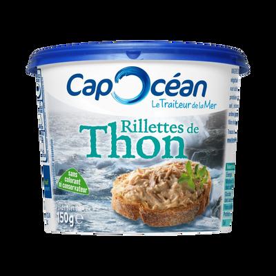 Rillettes de thon CAP OCEAN, 150g