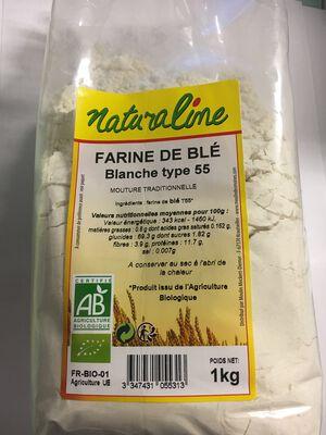 FARINE BIO BLANCHE T55