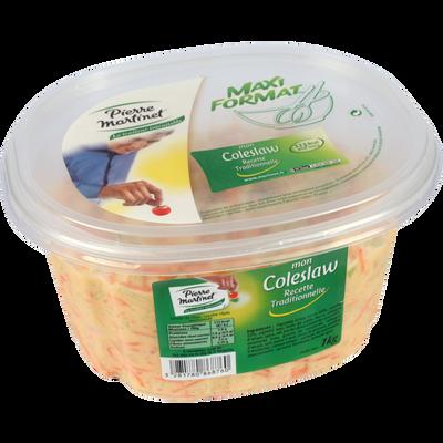 Salade coleslaw de chou blanc et carottes, PIERRE MARTINET, 1kg