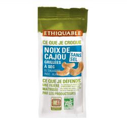 Noix de cajou grillées sans sel BIO ETHIQUABLE 100g
