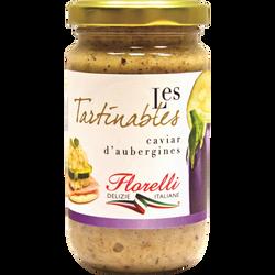 Caviar d'aubergines FLORELLI, 190g