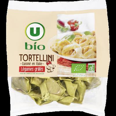 Tortellini aux légumes grillés U BIO, 250g