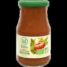 Sauce provencale au légumes U BIO, boîte de 420g