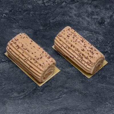 Bûchette Crème au Beurre Café décongelé, 2 pièces, 150g