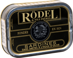 SARDINE HUILE D'OLIVE 1/6 MILLESIMÉE 115G - RODEL