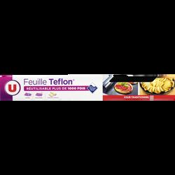 Feuille de cuisson revêtement Teflon U, 33x40cm