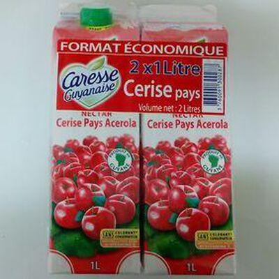 CARESSE GUYANAIS NECTAR CERISE 2X1L