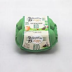 oeuf bio breizh'on egg x6