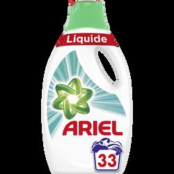 Lessive liquide febreze ARIEL, 33 doses soit 1,815L