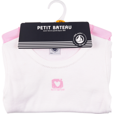 LOT DE 2 TEE SHIRT MANCHES COURTES FILLE
