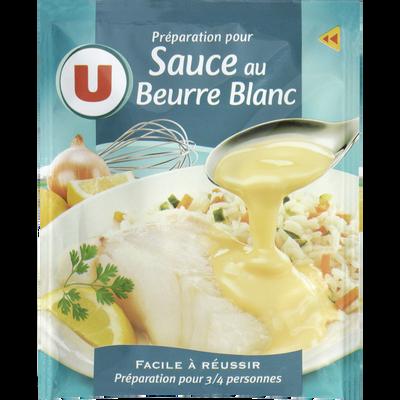 Sauce déshydratée au beurre blanc U, sachet de 35g