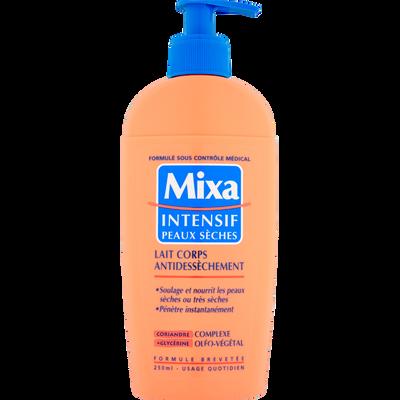 Lait anti dessèchement intensif pour le corps MIXA, 250ml