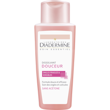 Dissolvant douceur ongles fragiles & sensibles DIADERMINE, flacon de 125ml
