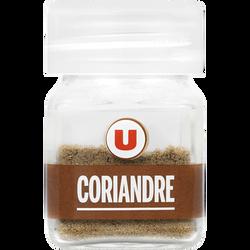 Coriandre moulue U, format petit de 12g