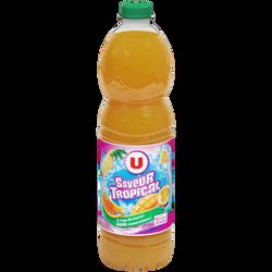 Boisson aux jus de fruits ABC aromatisée TROPICAL, 2l