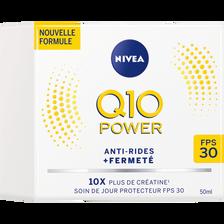 Soin de jour anti-rides Q10+ fps30 NIVEA VISAGE, pot de 50ml