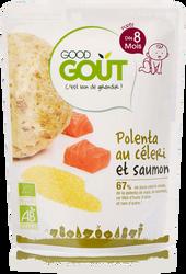 Céleri Polenta Saumon - Good Gout