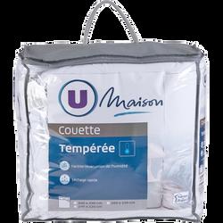 COUETTE TEMPÉRÉE TOP COOL 240 X220 CM U MAISON