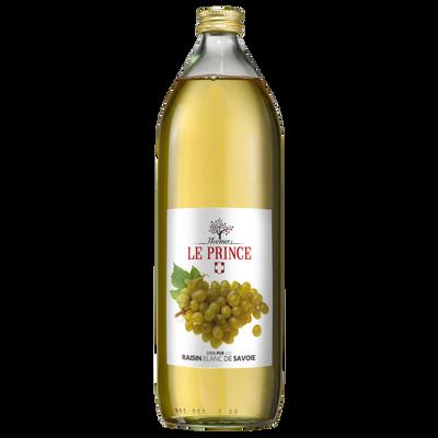Pur jus de raisin blanc THOMAS LE PRINCE, 1 litre