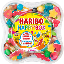 Haribo Happy Box , Boîte De 600g