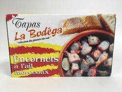 La Bodega - Encornets à l'Ail en morceaux - 112G