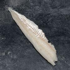 Filet de merlan, Merlangius merlangus, calibre 80g/+, pêché en Atlantique Nord Est