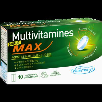Super tonique - multivitamines max