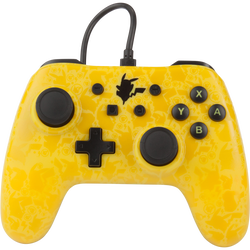 Manette filaire pour NINTENDO switch Pikachu silhouette power A