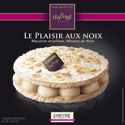 Plaisir aux noix recette LENÔTRE, 410g
