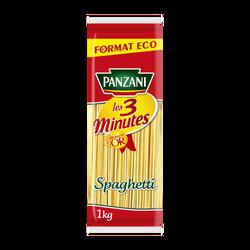 Spaghetti cuisson 3mn PANZANI, 1kg
