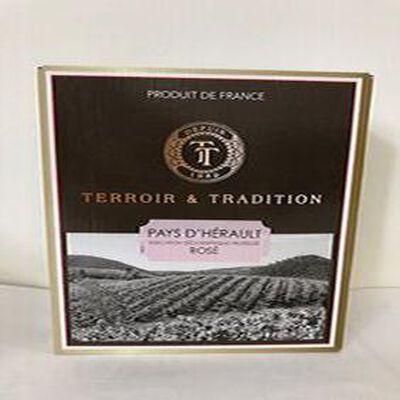 IGP Pays D'Oc - Terroir et Tradition Rosé - BIB 3L