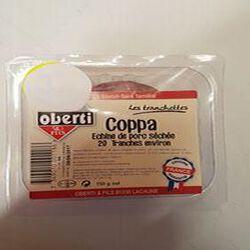 COPPA ECHINE DE PORC SECHEE  20 TRANCHES ENVIRON OBEERTI BARQUETTE 150G