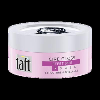 Cire coiffante gloss TAFT styling, pot de 75ml