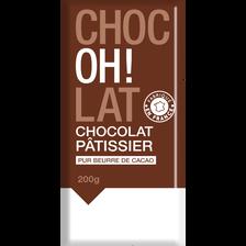 Chocolat à pâtisser, 200g