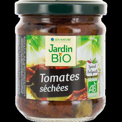 Tomates séchées marinées à l'huile bio JARDIN BIO 190g