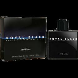 Eau de toilette pour homme Royal Black ARNO SOREL, 100ml