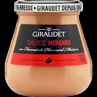 Sauce homard GIRAUDET, bocal 250g