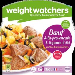 Boeuf provençal, confit de légumes d'été et pommes de terre WEIGHT WATCHERS, barquette micro-ondable de 300g