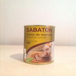 CREME MARRONS SABATON CONS 1/2